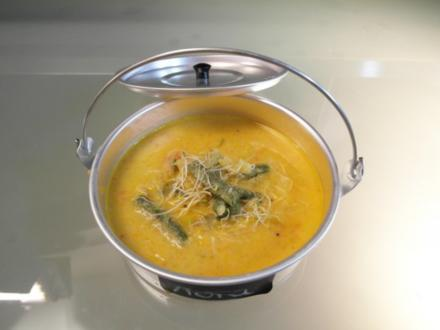 Green bean soup - Rezept