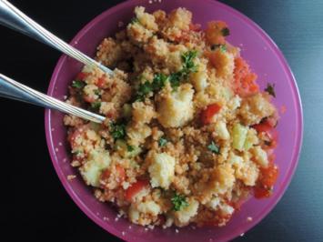 Cous Cous Salat - Rezept
