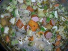 Kartoffelsuppe mit Kasseler Nackenkotelett - Rezept