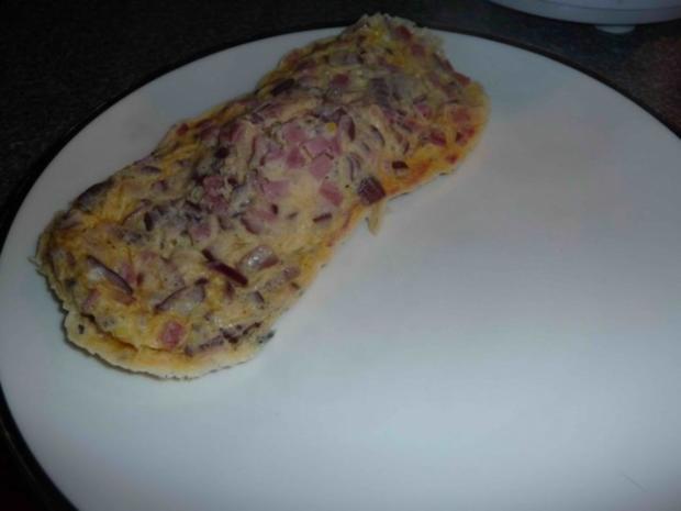 Käse-Schinken-Omlett - Rezept - Bild Nr. 6