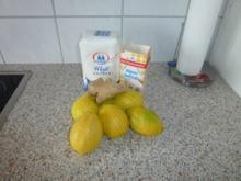 Zitronen-Ingwer-Limo - Rezept