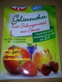 Erdbeermarmelade mit Stevia - Rezept
