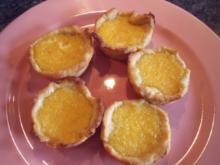 Kleine Zitronen-Törtchen - Rezept