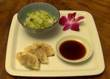 Gyoza mit Krautsalat (Manuel Cortez) - Rezept