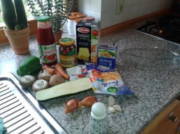 Rezept: schnelle Lasagne