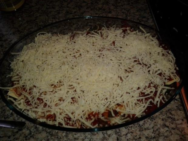 schnelle Lasagne - Rezept - Bild Nr. 6