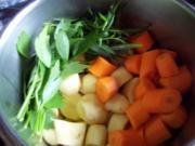 cremige Kartoffelsuppe - Rezept