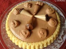Kleine Nougat - Mascarpone - Torte ... - Rezept