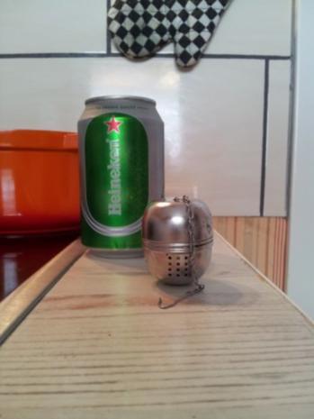 Rollbraten in Biersoße mit Knödeln - Rezept - Bild Nr. 3