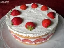 Kleine Erdbeer - Käse - Torte ... - Rezept