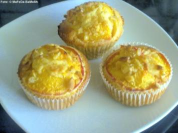Pfirsich-Muffins - Rezept