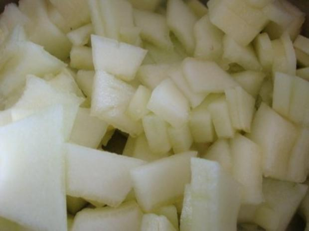 Kalte Melonensuppe mit Safran - Rezept - Bild Nr. 6