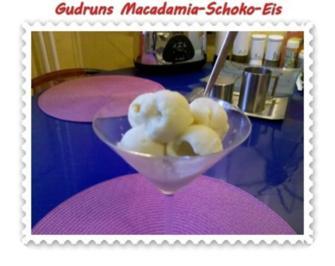Eis: Macadamia-Schoko-Eis - Rezept