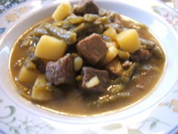 Suppen: Grüne-Bohnen-Eintopf - Rezept
