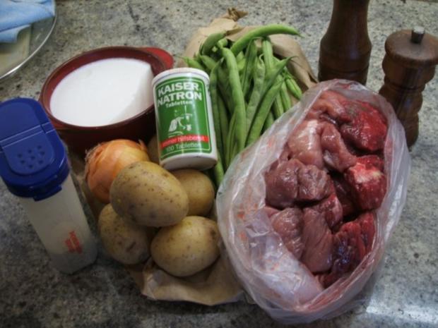 Suppen: Grüne-Bohnen-Eintopf - Rezept - Bild Nr. 2