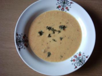 Karotten - Currysuppe - Rezept