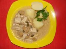 Ahab's Asia Ragout mit Fleisch vom Mais-Suppenhuhn. - Rezept