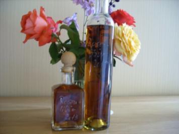 Likör: Rosenlikör - Rezept