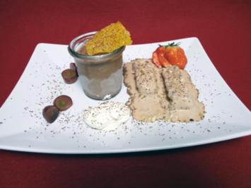 Chocolate Semifreddo - Zweierlei italienisches Eis - Rezept