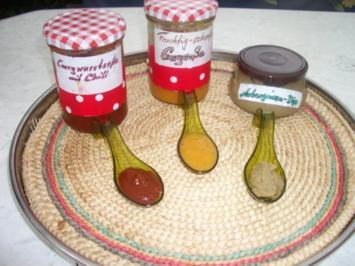 Currywurstsoße auf Tomatenbasis - Fruchtige Currysoße für Grillfleisch - Auberginen - Dip - Rezept