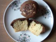 Muffins black and white - Rezept