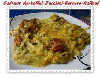 Auflauf: Kartoffel-Zucchini-Berbere-Auflauf - Rezept