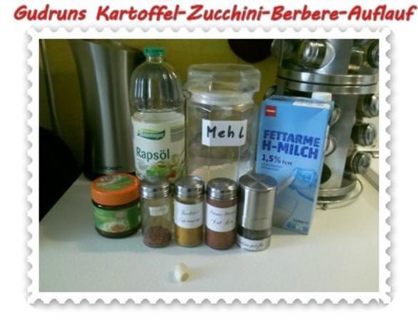 Auflauf: Kartoffel-Zucchini-Berbere-Auflauf - Rezept - Bild Nr. 3