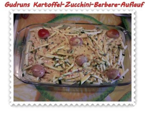 Auflauf: Kartoffel-Zucchini-Berbere-Auflauf - Rezept - Bild Nr. 5