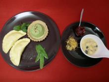 Cappelletti auf Parmesan-Fondue mit Salbeibutter - Rezept