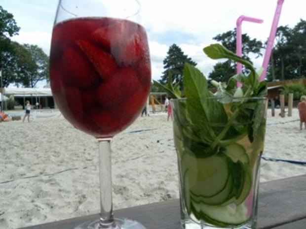 Erdbeerbowle und Kinderpunsch - Rezept