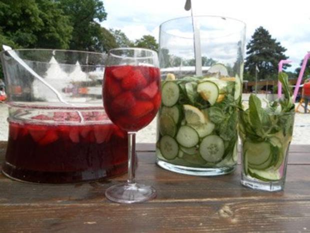 Erdbeerbowle und Kinderpunsch - Rezept - Bild Nr. 2