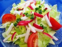 Salat mit Radieschen und Gremolata - Rezept