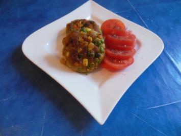 Vegetarisch: Gemüseburger - Rezept