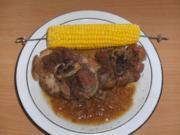 Fleisch: Schweinshaxenscheiben geschmort - Rezept