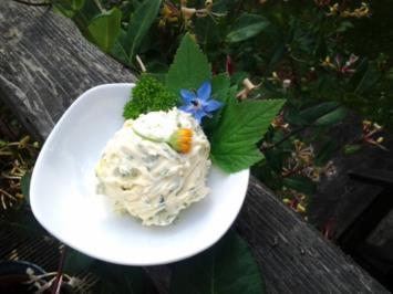 Kräuterbutter mit Wildkräutern - Rezept