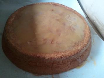Toffee-Kuchen mit Cranberries - Rezept