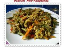 Gemüse: Asia-Reispfanne - Rezept