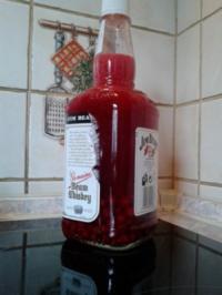 Roter Aufgesetzter von Johannisbeeren - Rezept