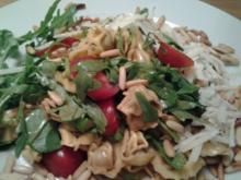 Tortellini- Ruccola- Salat - Rezept