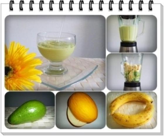 Avocado - Honigmelone - Banane Smoothie - Rezept - Bild Nr. 10