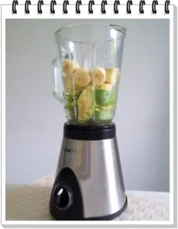Avocado - Honigmelone - Banane Smoothie - Rezept - Bild Nr. 7