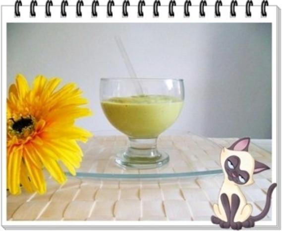 Avocado - Honigmelone - Banane Smoothie - Rezept