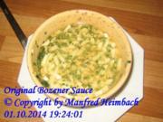 Saucen – Original Bozener Sauce - Rezept
