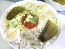 Kartoffelsalat Seemanns Art - Rezept