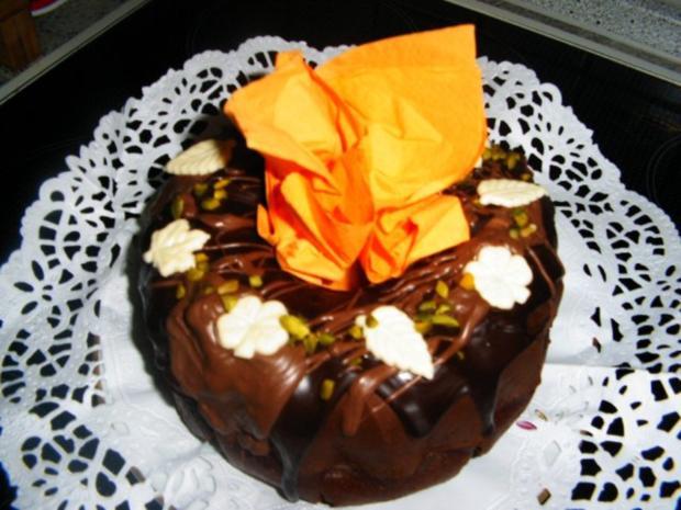 Schokoladen-Joghurt -Kuchen - Rezept