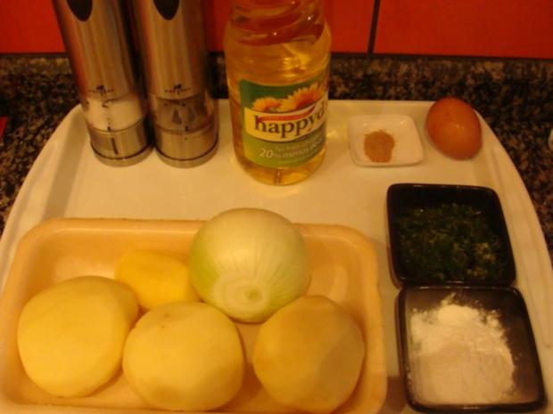 Beilagen : Kartoffelpuffer mit Eiersoße - Rezept - Bild Nr. 3