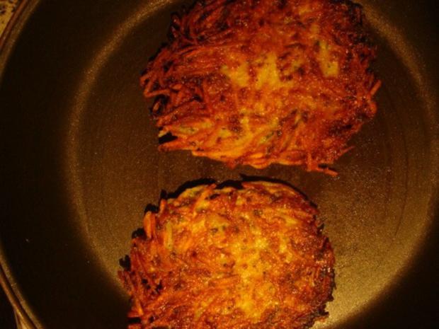Beilagen : Kartoffelpuffer mit Eiersoße - Rezept - Bild Nr. 2