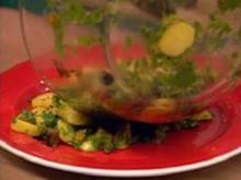 Auberginen-Kartoffel-Salat - Rezept