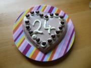 kleine Überraschungs - Geburtstagstorte - Rezept