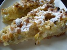 Stachelbeer - Streusel - Kuchen - Rezept